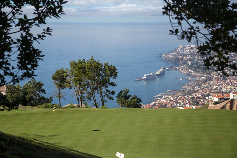 The view of Funchal from Palheiro's 18th green and clubhouse is simply one of the best in Europe.