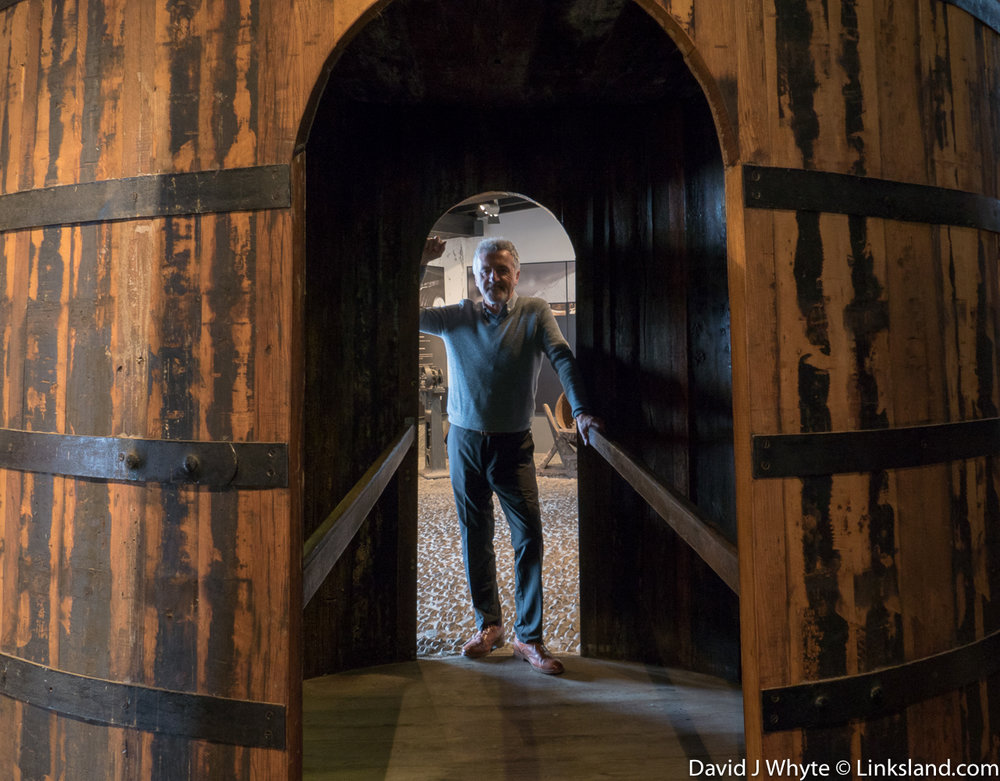 Step into the world of Madeira Wine at Blandy's Wine Lodge, big barrel of interesting fun.