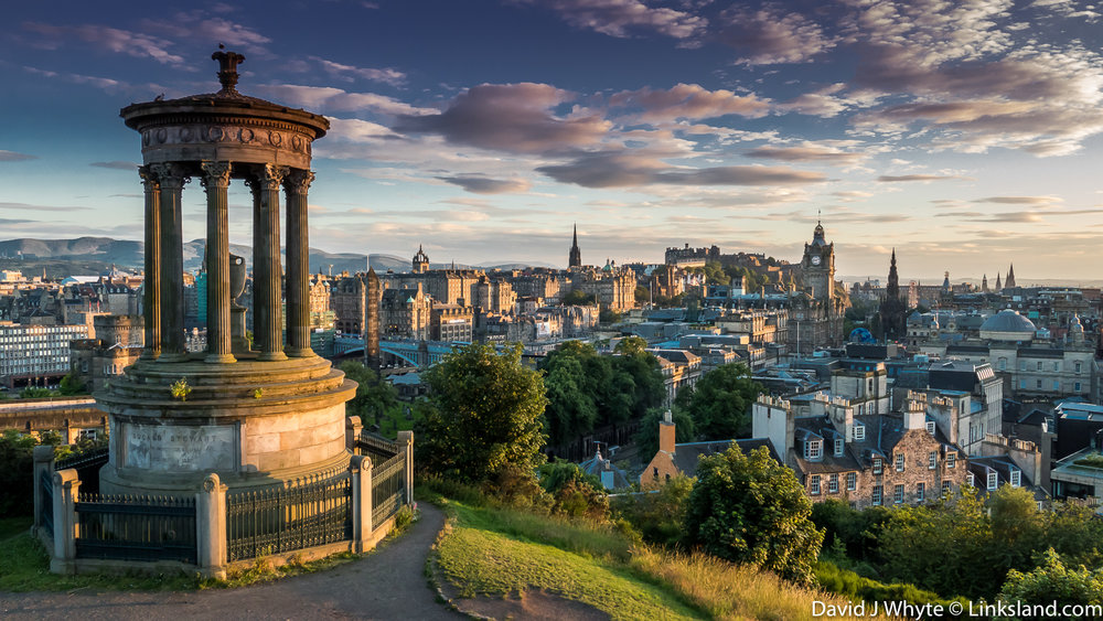 The City of Edinburgh succeeded Perth as the country's capital.