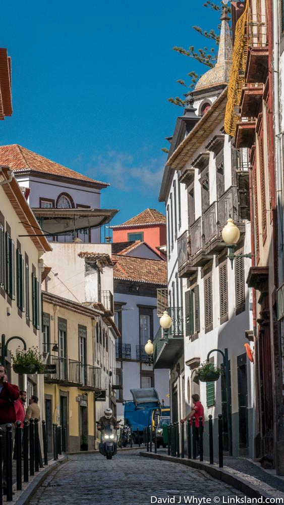 Rua das Pretas, Old Funchal, Madeira, © David J Whyte @ Linksland.com.jpg
