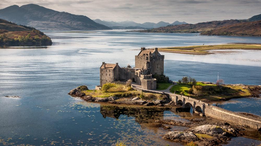 Eilean Donan Castle, Loch Duart, Scotland, David J Whyte, Linksland.com (1 of 1).jpg