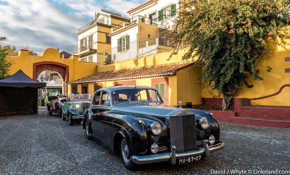 Vinatage Cars in Funchal © David J Whyte @ Linksland.com.jpg