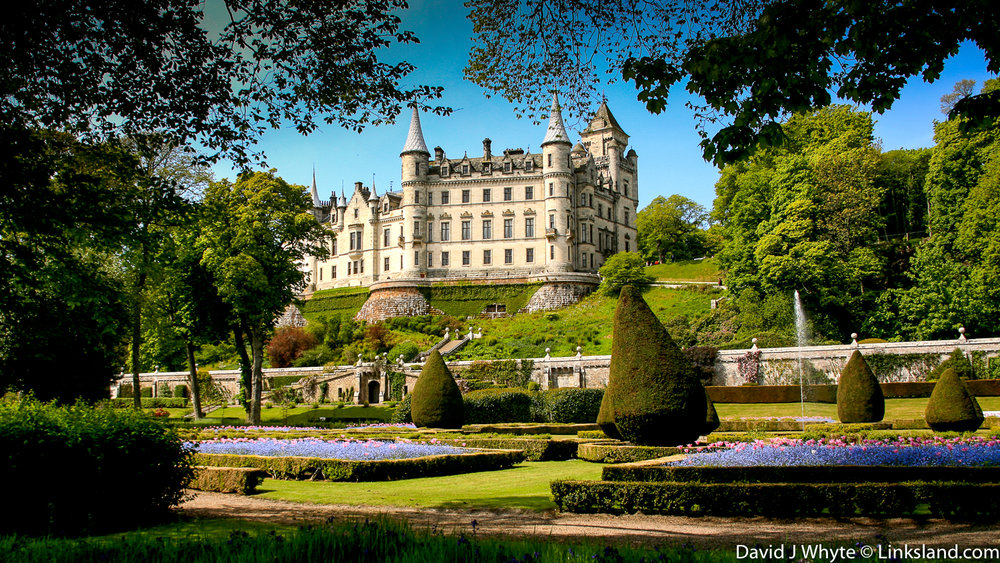 Dunrobin Castle, Golspie, Scottish Highlands, Scotland David J Whyte @ Linksland.com-2.jpg