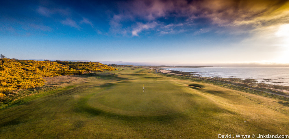 There are so many bold holes at Royal Dornoch like the 9th
