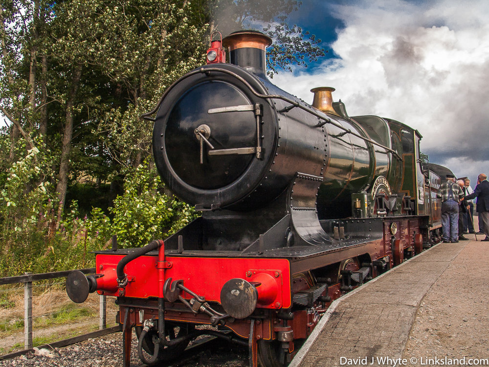 The Strathspey Railway celebrates steam travel through the Highlands of Scotland and we've arranged a special dining tour from the village of Aviemore