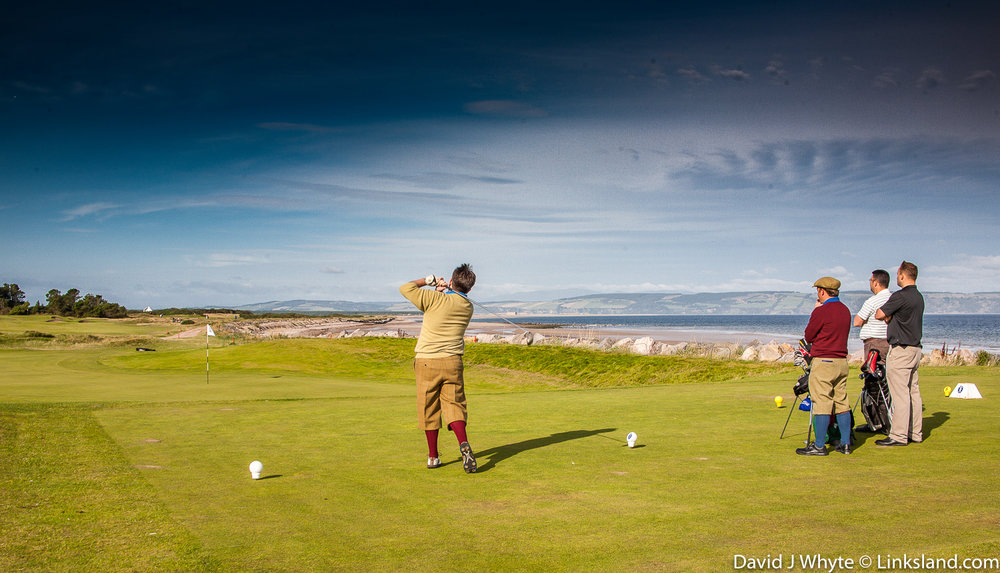 Nairn plays out along the banks of the Cromarty Firth and is renowned for its large, links greens.