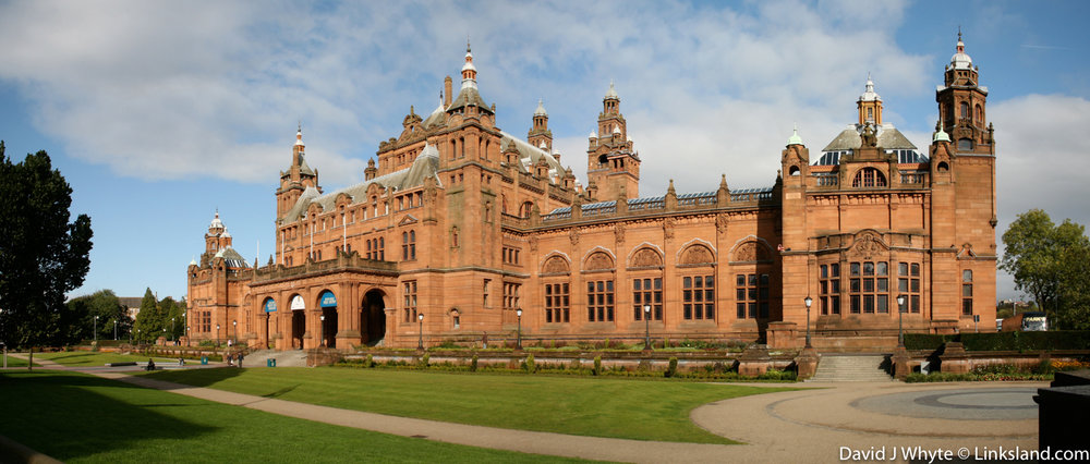 Kelvingrove Art Gallery & Museum houses Salvador Dali's Christ of Saint John of the Cross