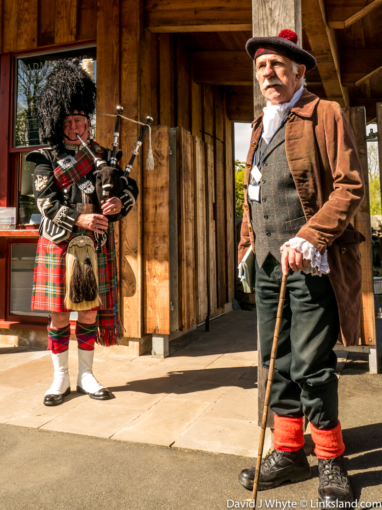 A superb reception awaits you at Robert Burns' Cottage in the village of Alloway, Ayrshire