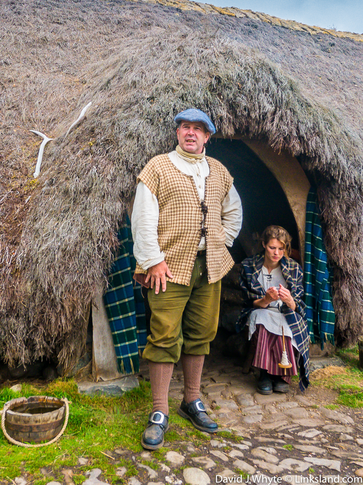 Travel back in time to the Highland Folk Museum in Newtonmore, scene of several 'Outlander' episodes.