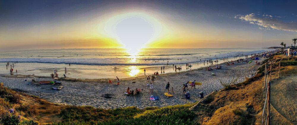 Del Mar Beach, San Diego, California, David J Whyte @ Linksland.com-4.jpg