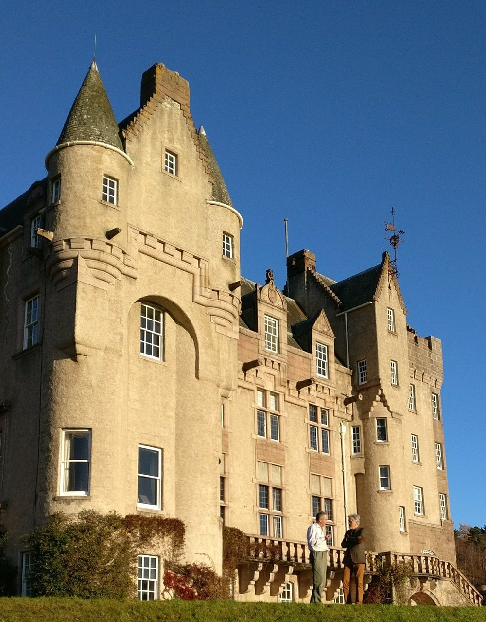 David J Whyte and Andrew Bradford, Laird of Kincardine Castle on Royal Deeside, one of our extraordinary accommodations