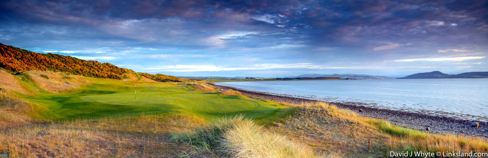 It's 'all here' at Castle Stuart, like Kingsbarns a superb example of making a links out of former pastures.
