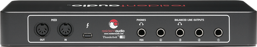 Resident Audio T4 - Thunderbolt Audio Interface T4 B&H Photo