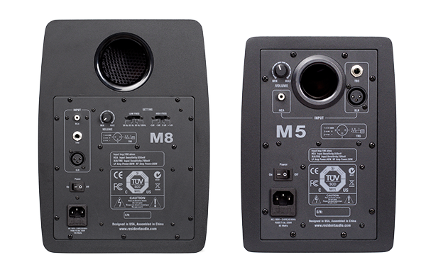 RESIDENT AUDIO Resident Audio M8 Active Nearfield Monitors (pair ...