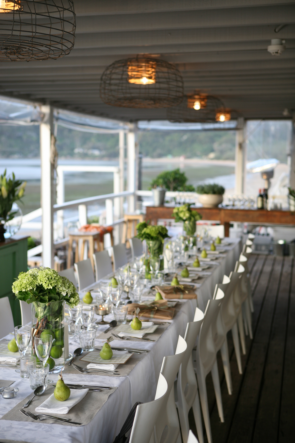Dinner events the boathouse