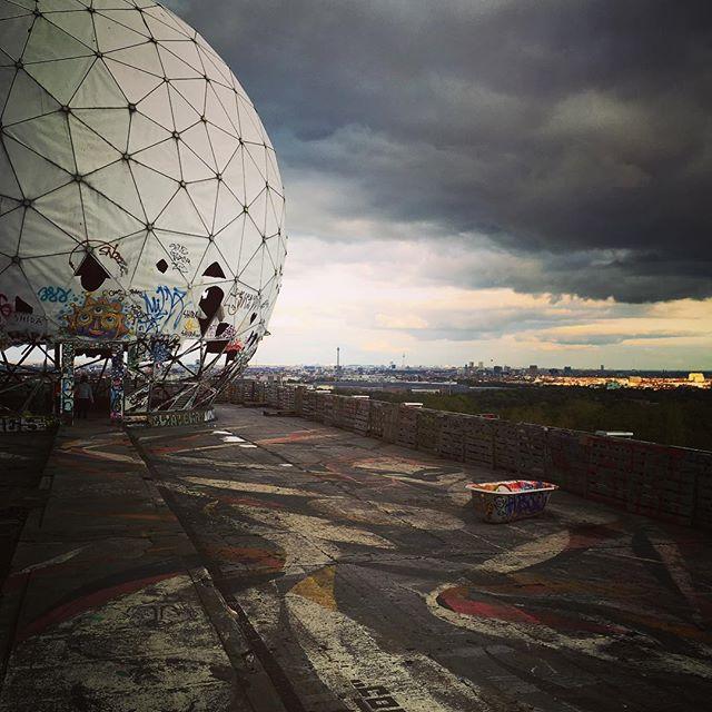 #teufelsberg #berlin #coldwar #realspies