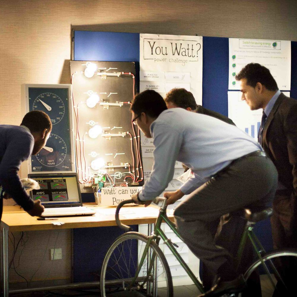 Hire Bicycle Power Challenge