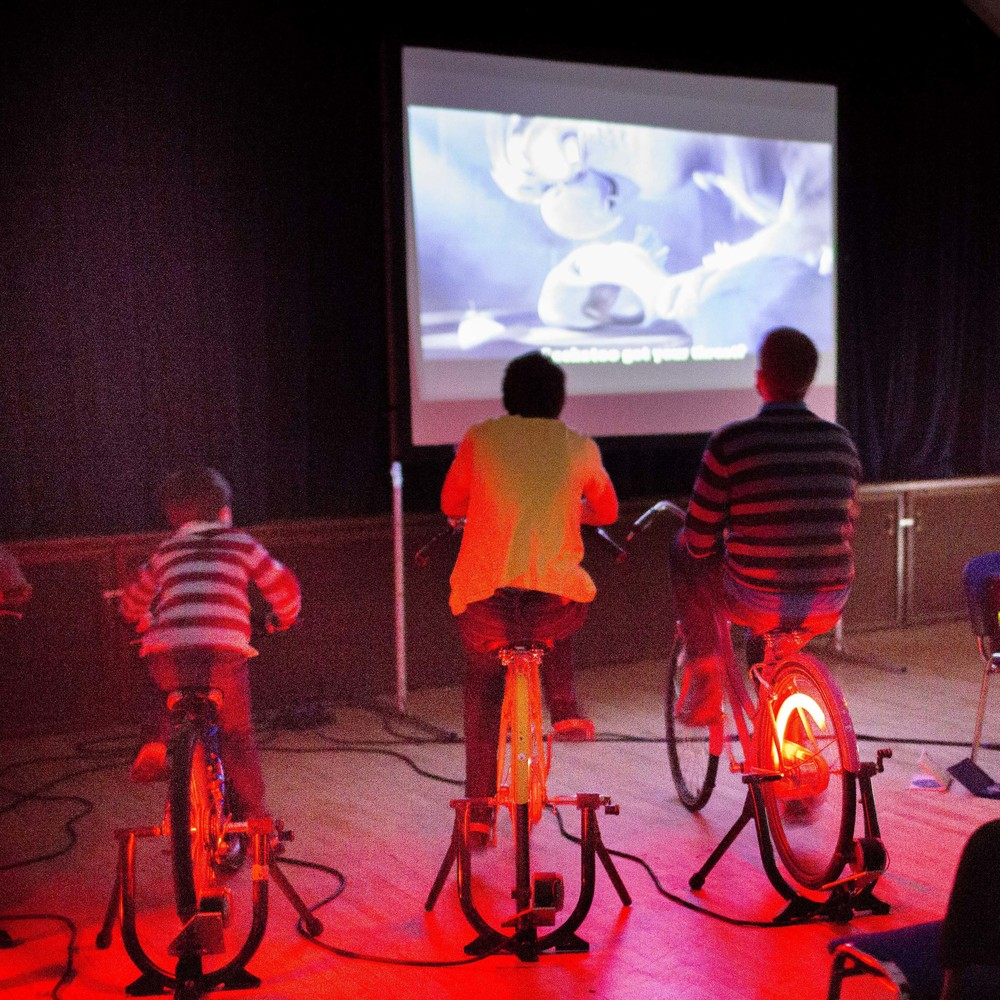 Hire Us: Small Bicycle Cinema