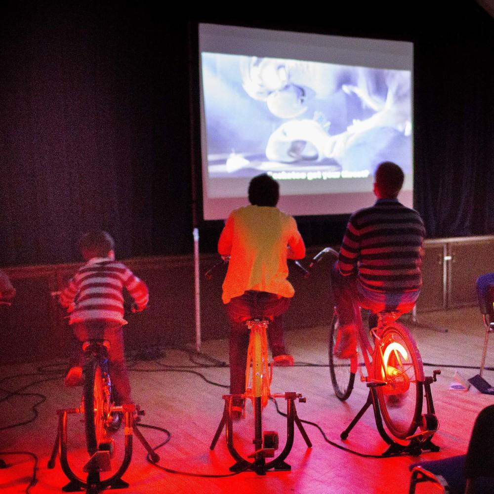 Hire Small Bicycle Cinema