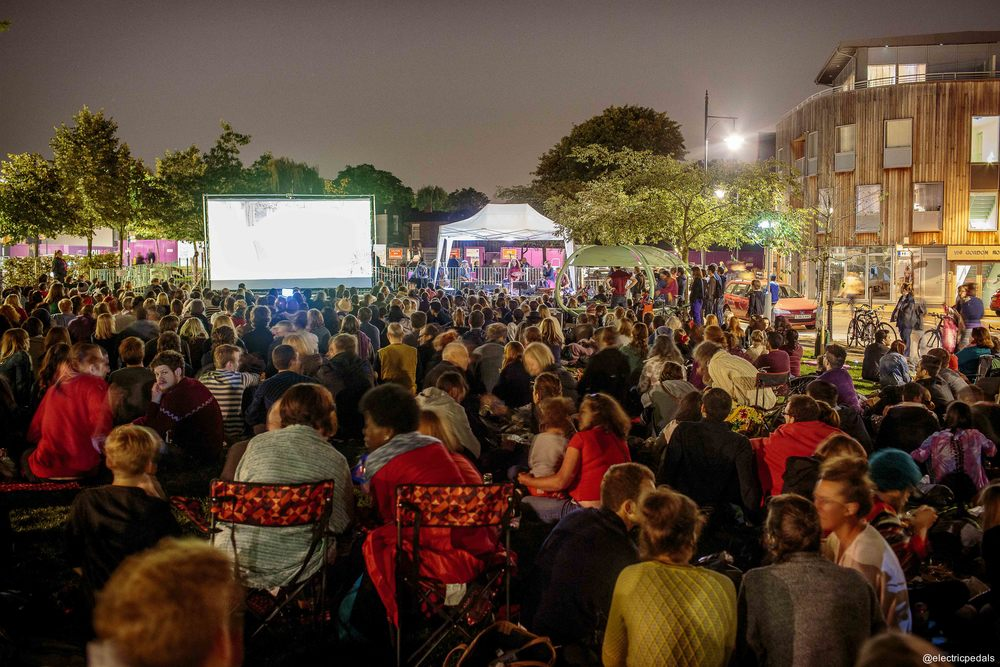 Big Bicycle Outdoor Cinema