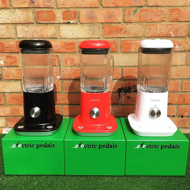 Pedal-Powered Smoothie Makers