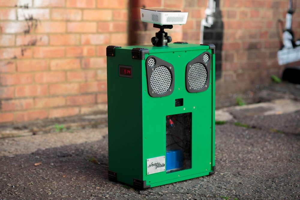 The Owl Portable Cinema