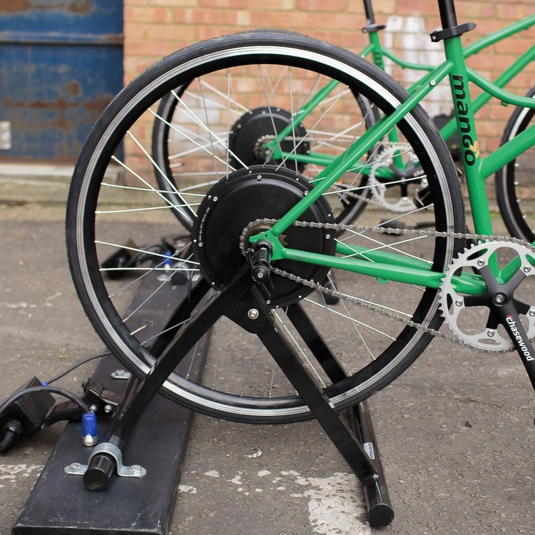 Rear Wheel Hub Generator