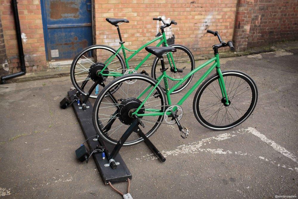 Busboard - Link pairs of bikes
