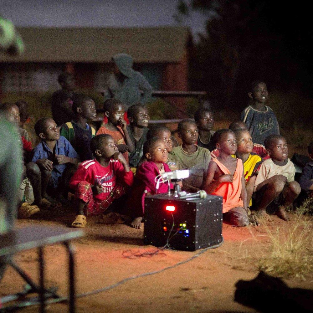 Backpack Cinema Malawi