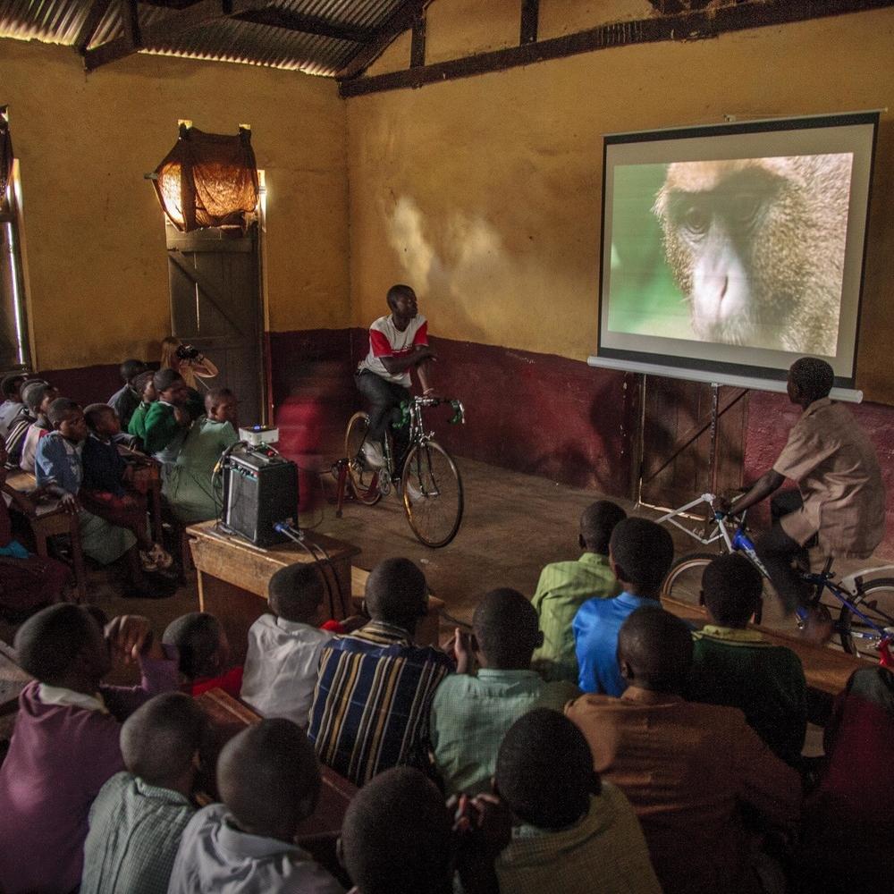 Backpack Cinema - Uganda