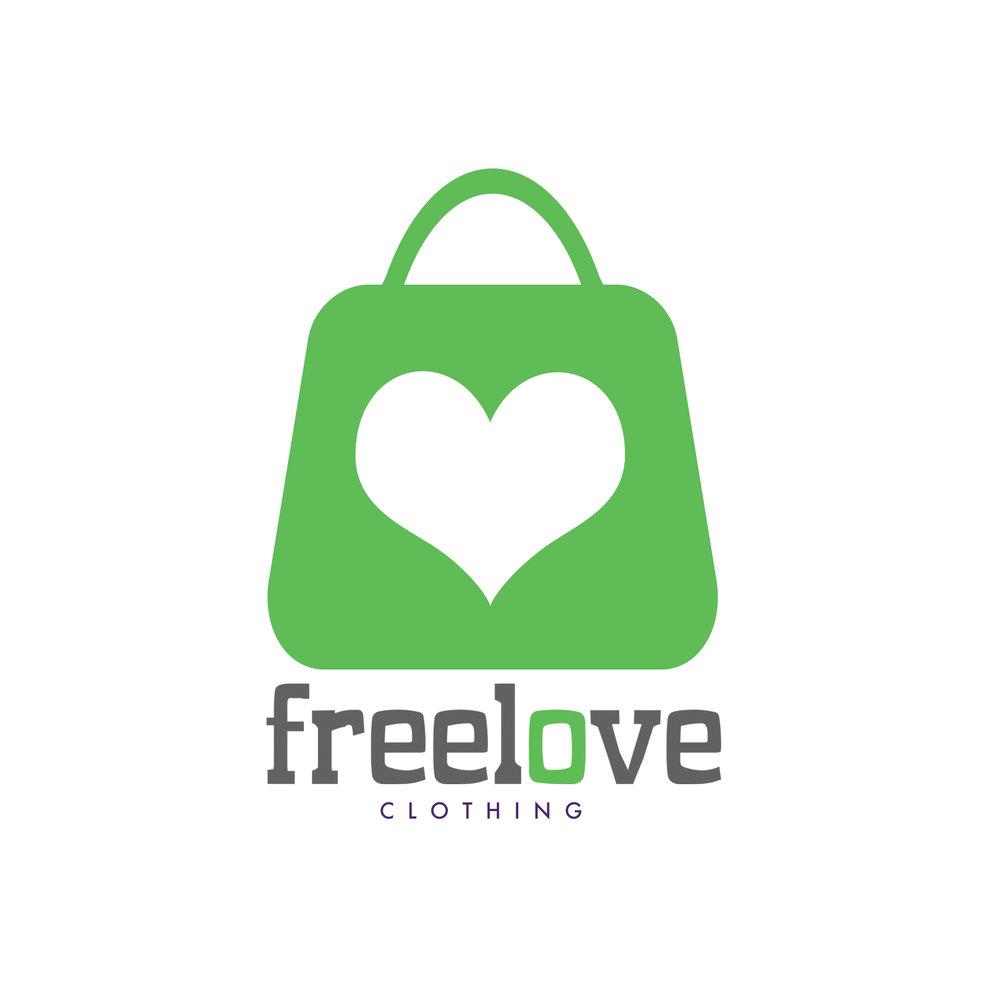 Freelove Clothing Logo • Branding