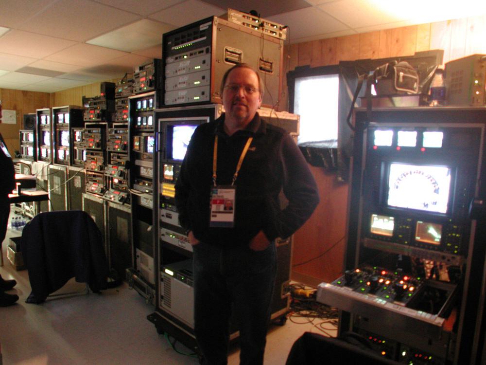 Video control room.
