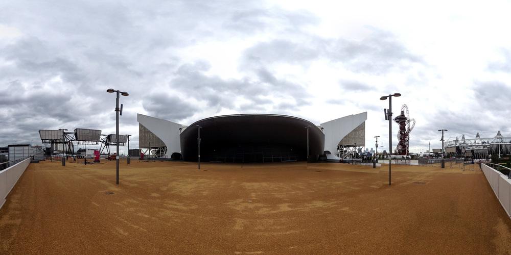 Aquatics stadium