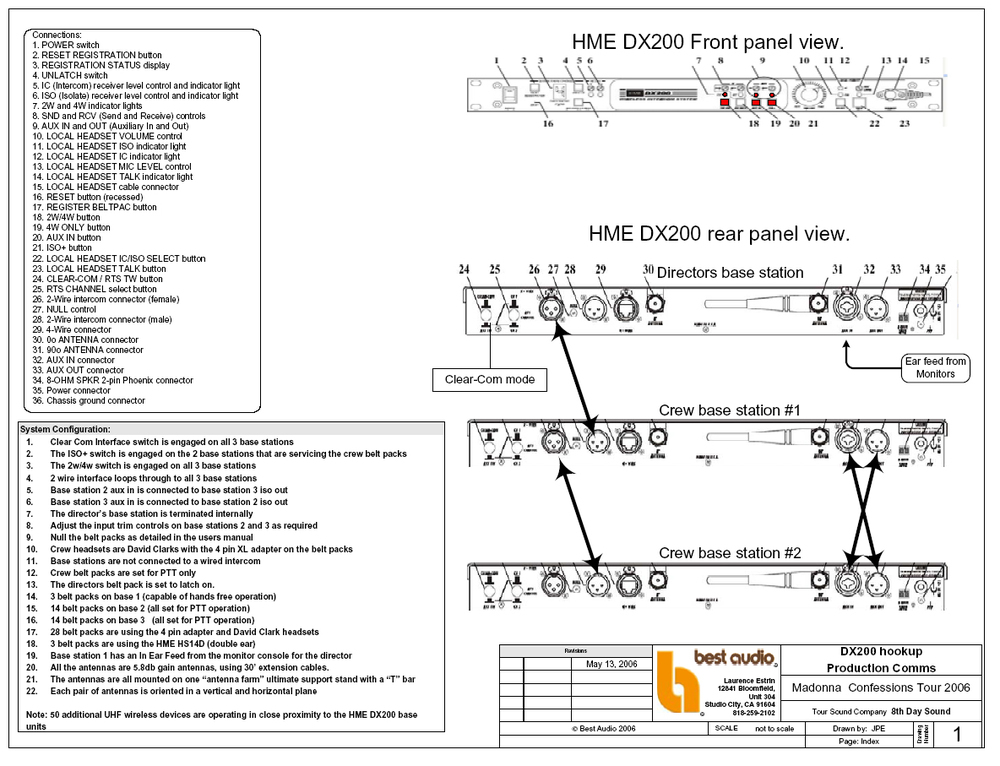 Click for a PDF of the technical drawings.