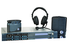 Terrific wireless intercom. Up to 5 channels per beltpack; 20 full-duplex beltpacks per base station or 50 users per seamless connection to Matrix frame.