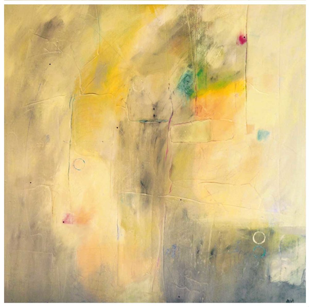 """Rubato"" canvas 36""X36"" SOLD at G44"