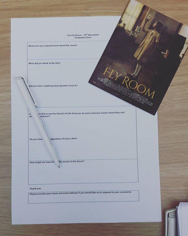 @theflyroom survey @warwickarts