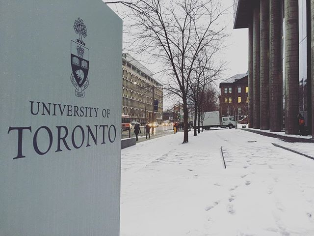 @uoft a few hrs before screening