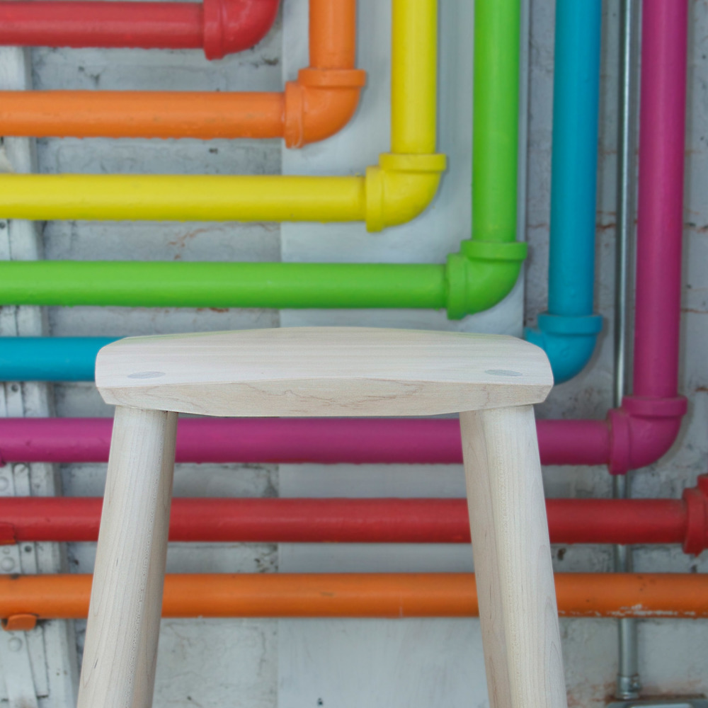 maple stool colour pipes.jpg