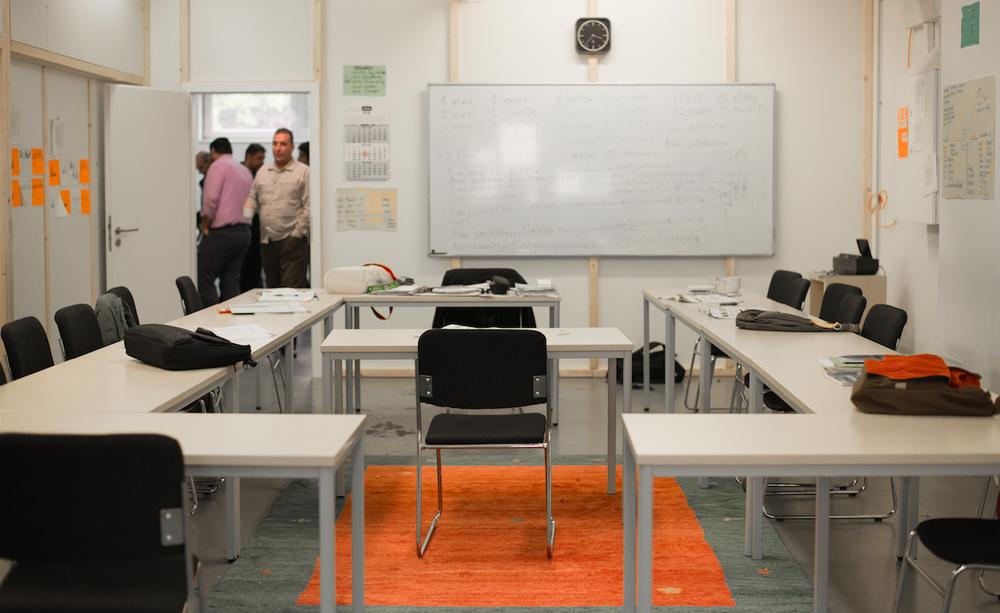 Unterrichtsraum der abw-Sprachschule