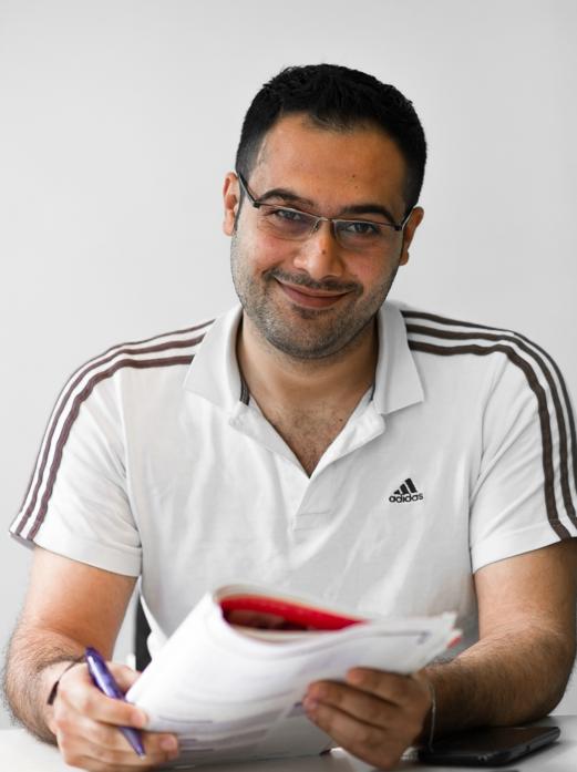Mohanad, 27 Jahre alt, Aleppo, Syrien.