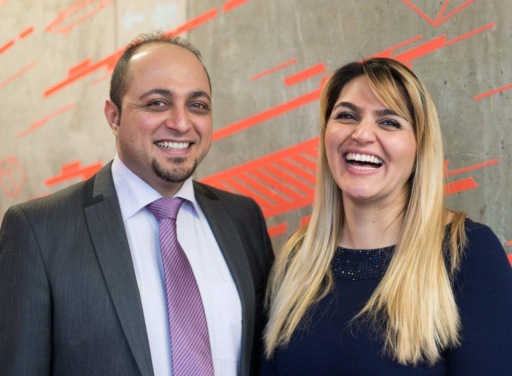 Geschwister gründen - Behrad und Fargol