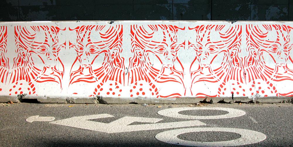 Bike Lane Mural