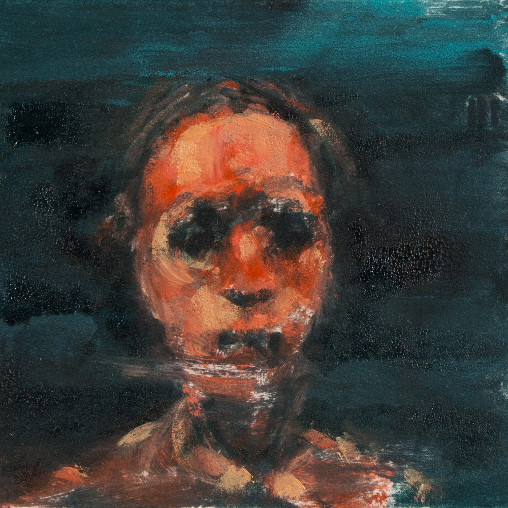 "'Witness', monotype, 3"" x 3"", 2014"