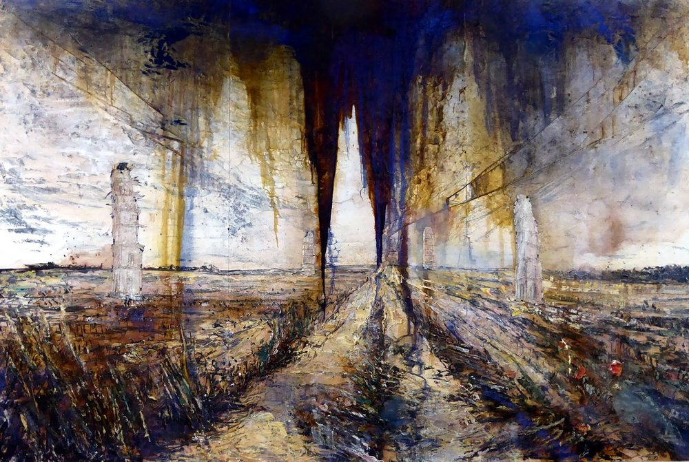 Anselm Kiefer,  from Walhalla , 2016