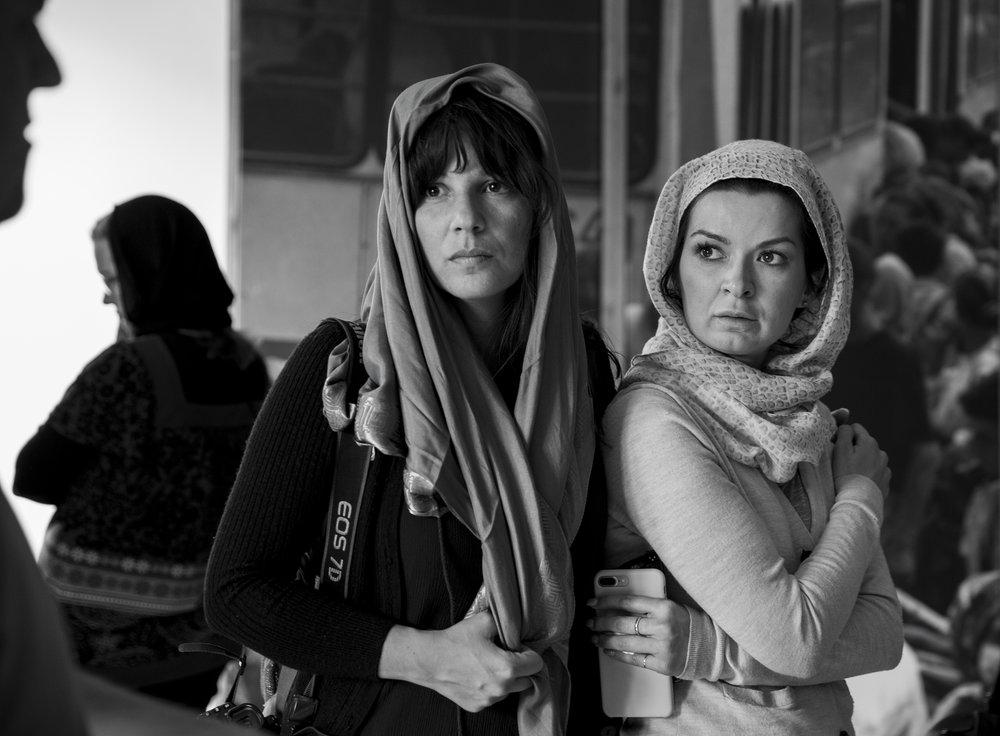 """'Horror Stories', 24"""" x 36"""" (framed), photographed 2017 in Bosnia-Herzegovina"""