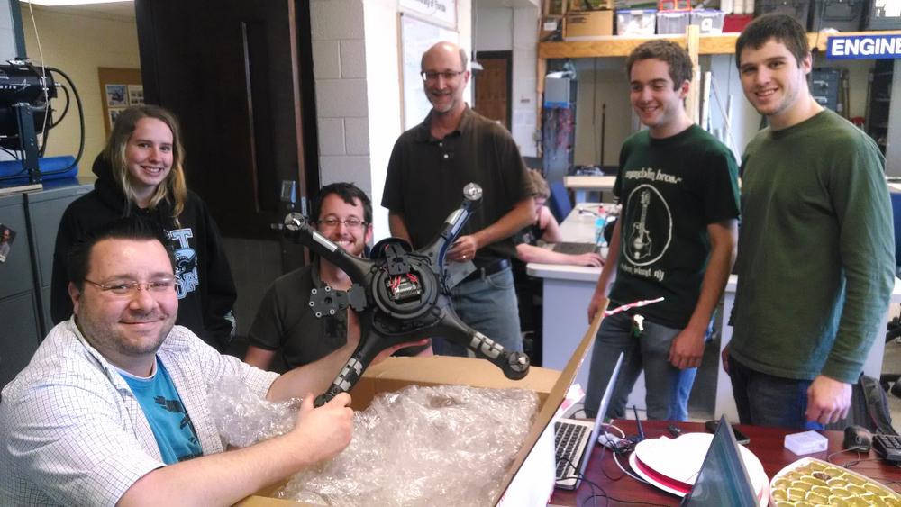 UnivFla robotics team.jpg