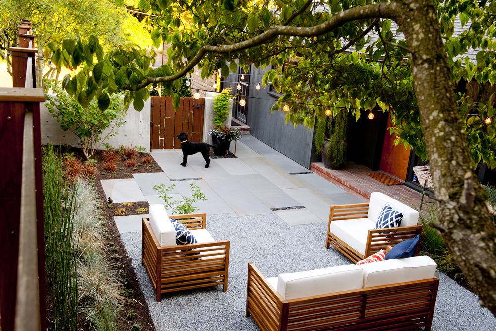 Mid Century Seattle Courtyard Remodel
