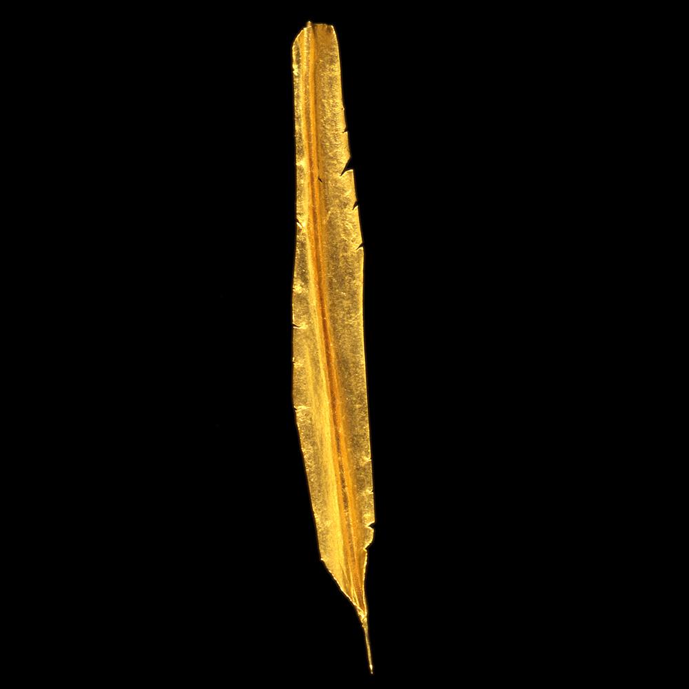 """1980s  24-karat gold, 0.5x4"""""""