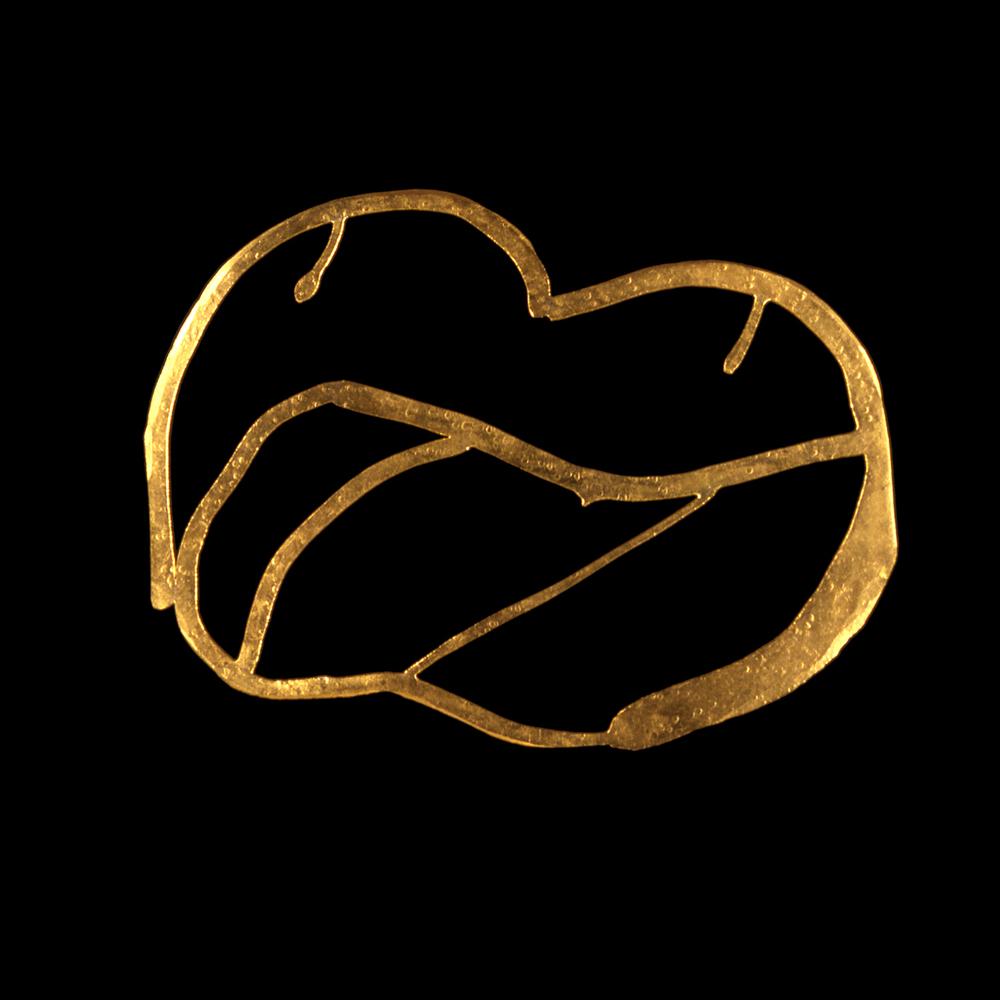 1980s  24-karat gold
